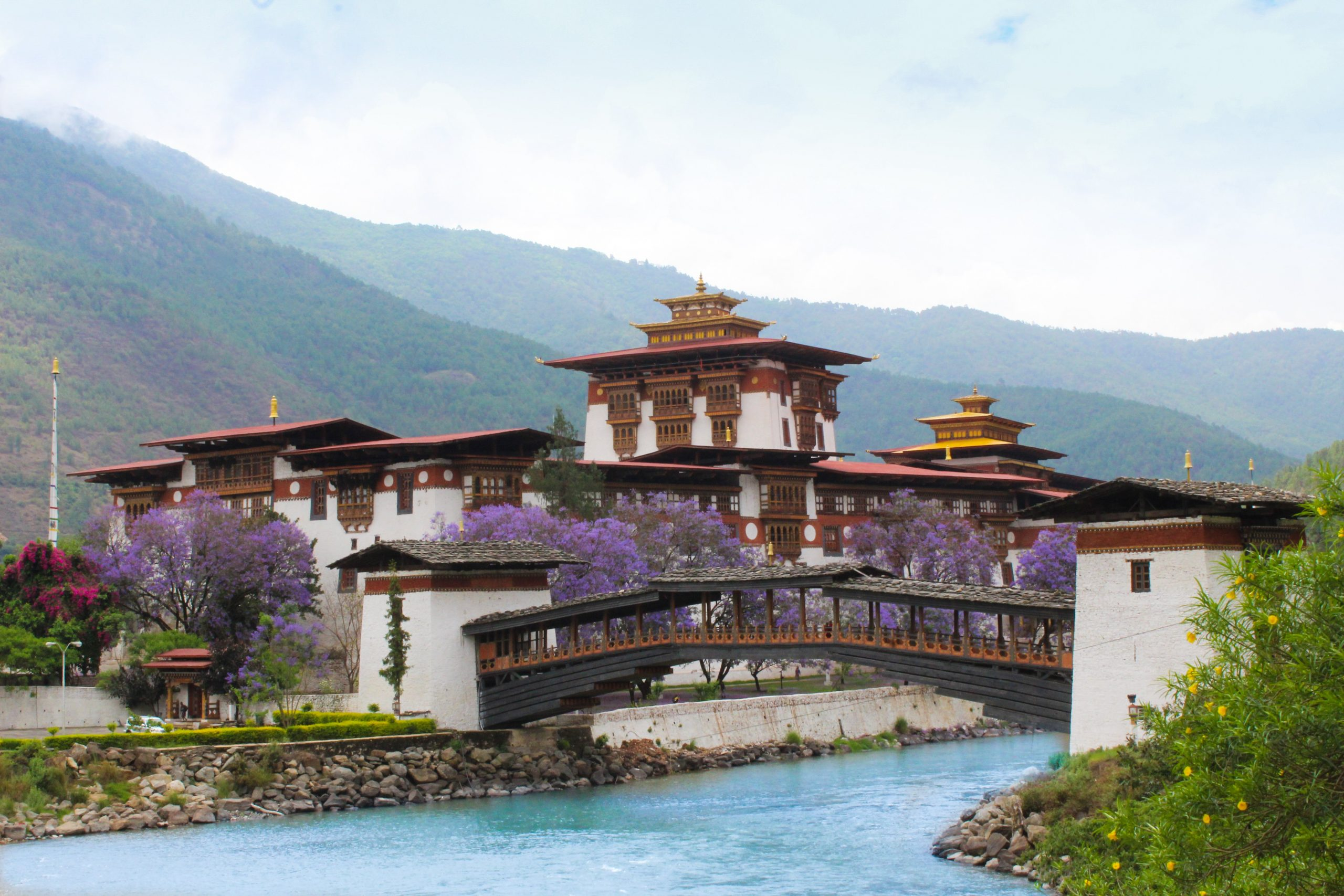 Best time to visit Bhutan - Spring